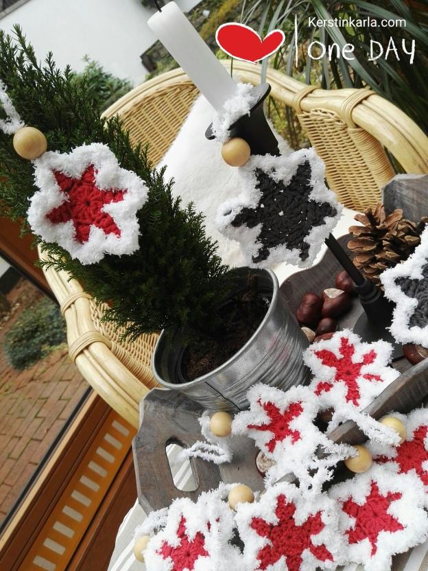 Weihnachten Häkeln Sterne Kerstin Karla